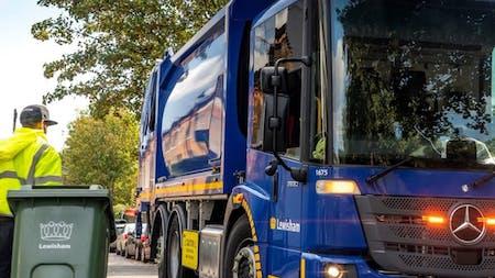 Lewisham Council upgrades its refuse fleet with 39 Mercedes-Benz Econics from Orwell Truck & Van