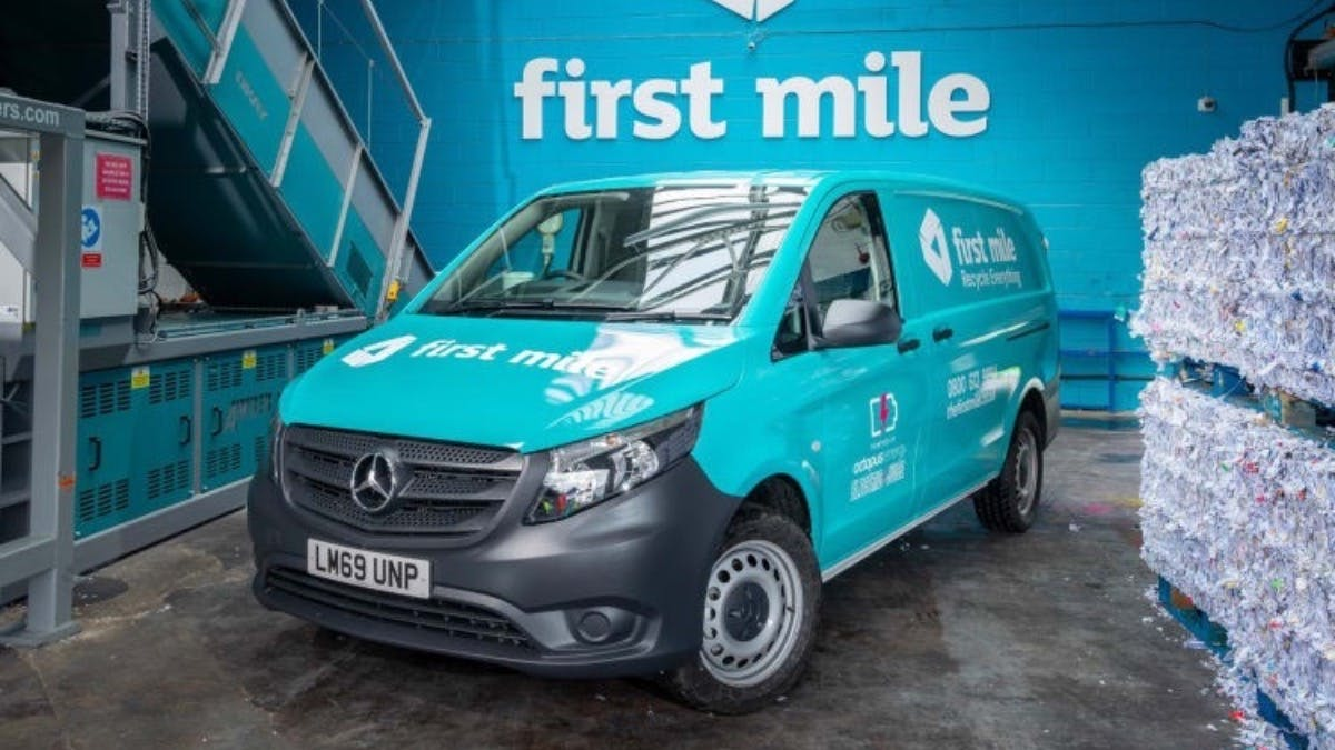 First Mile charges ahead with five zero-emission Mercedes-Benz eVito vans