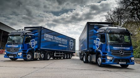 FTS Group capitalises on Mercedes-Benz Trucks with 21 Actros's from S & B Commercials
