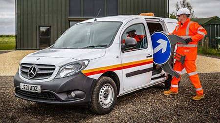 Mercedes-Benz Dealer Orwell Truck & Van makes all the right connections for Electrical Testing