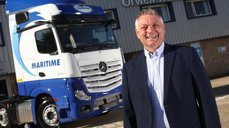 Maritime charts a course for future success with 100 new-generation Mercedes-Benz Actros from Orwell Truck & Van