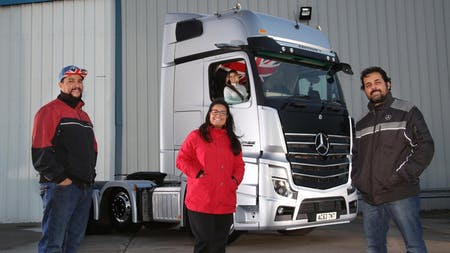 Tonnes & Tonnes' Brazilians are nuts about their stunning Mercedes-Benz Actros Edition 1
