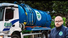 Ambitious liquid waste specialist brings five new Mercedes-Benz Arocs tankers on stream