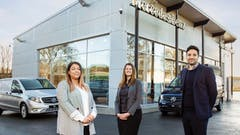Motus Dealers land coveted Mercedes-Benz Vans prize for their customer service 'game-changer'